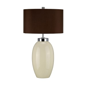 Lampa stołowa VICTOR Cream Small Elstead