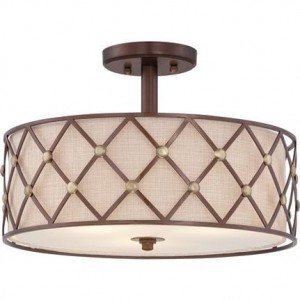 BROWN LATTICE lampa sufitowa QZ/BROWNLATT/SF